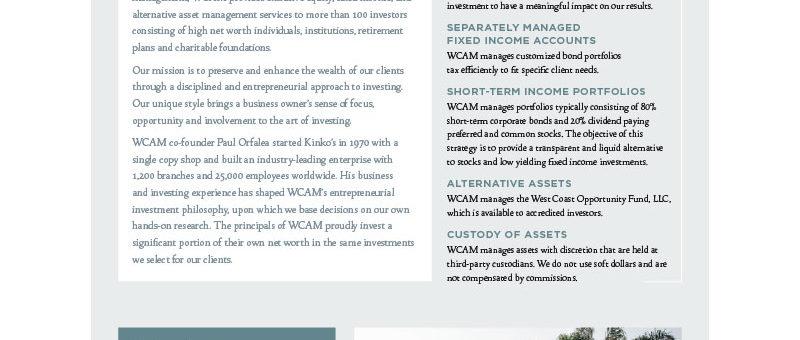 West Coast Asset Management